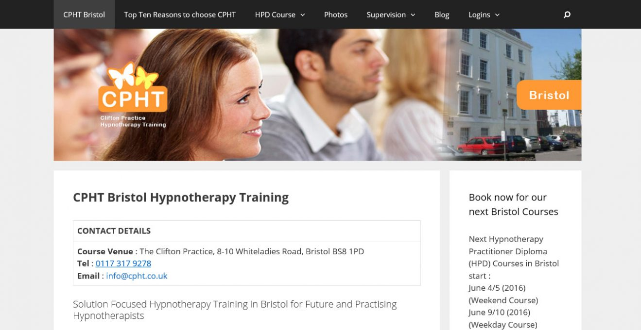 The Clifton Practice Website