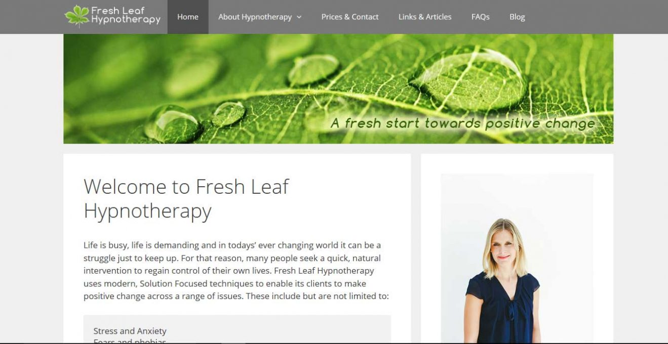 Fresh Leaf Hypnotherapy